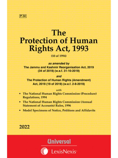 Protection of Human Rights Act, 1993 along with Regulations and Rules