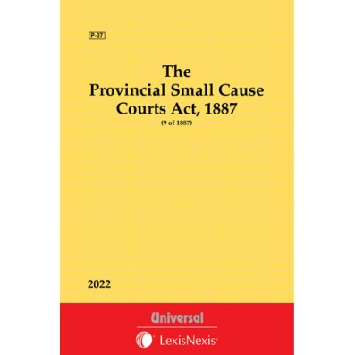 Provincial Small Cause Courts Act, 1887