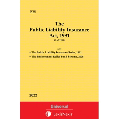 Public Liability Insurance Act, 1991 along with Rules, Forms & Notification