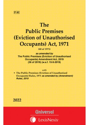 The Public Premises (Eviction of Unauthorised Occupants) Act, 1971