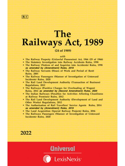 Railways Act, 1989 along with allied Acts and Rules