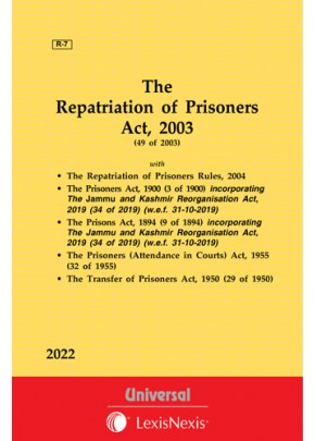 Repatriation of Prisoners Act, 2003 along with allied Acts