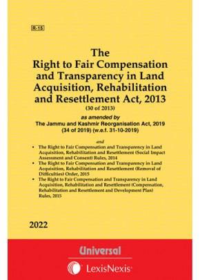 Right to Fair Compensation and Transparency in Land Acquisition, Rehabilitation and Resettlement Act, 2013