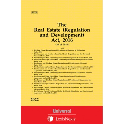 Real Estate (Regulation and Development) Act, 2016 with allied Orders and Rules for U.T.s and NCT of Delhi