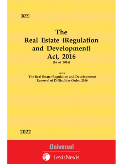 Real Estate (Regulation and Development) Act, 2016 with Allied Order