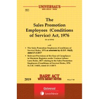 Sales Promotion Employees (Conditions of Service) Act, 1976 along with Rules, 1976