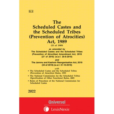 Scheduled Castes and the Scheduled Tribes (Prevention of Atrocities) Act, 1989 along with Rules