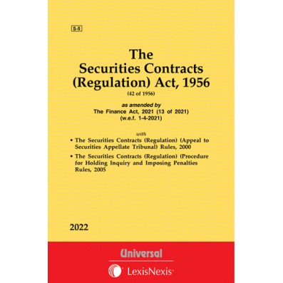 Securities Contracts (Regulation) Act, 1956 along with allied Rules