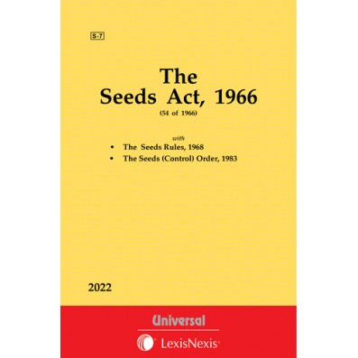 Seeds Act, 1966 along with Rules & Orders, 1983
