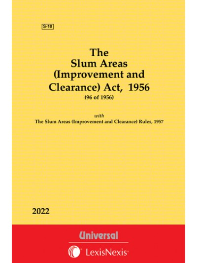 Slum Areas (Improvement  and Clearance) Act, 1956 along with Rules, 1957