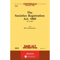 Societies Registration Act, 1860 with State Amendments