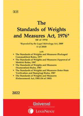 Standards of Weights and Measures Act, 1976 along with allied Rules and Act, 1985