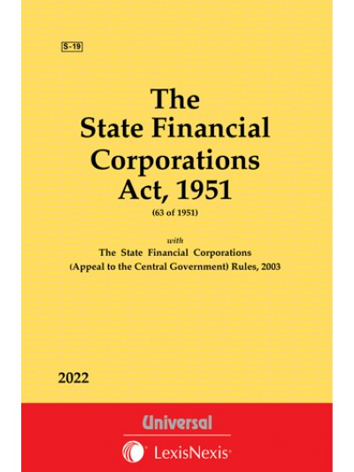 State Financial Corporations Act, 1951 along with Rules, 2003