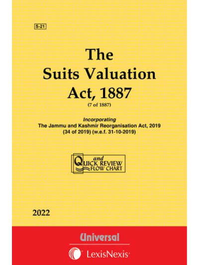 Suits Valuation Act, 1887 with State Amendments