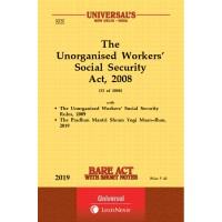 Unorganised Workers' Social Security Act, 2008 alongwith Rules, 2009