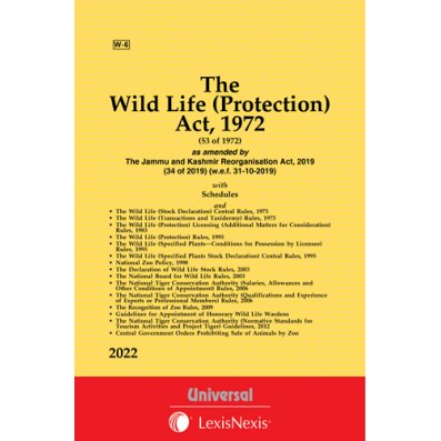 Wild Life (Protection) Act, 1972 along with allied Rules