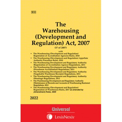 Warehousing (Development and Regulation) Act, 2007 with allied Rules and Regulations
