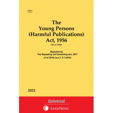 Young Persons (Harmful Publications) Act, 1956