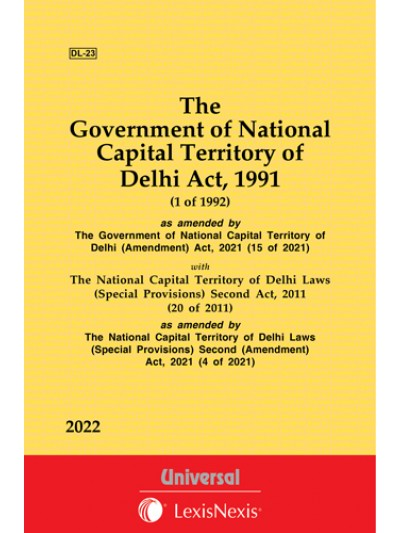 Government of NCT of Delhi Act, 1991