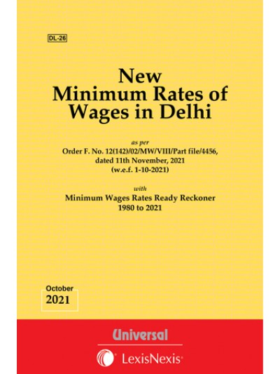 New Minimum Rates of Wages in Delhi