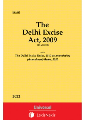 Delhi Excise Act, 2009 along with Rules, 2010