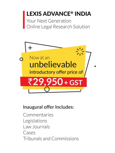Lexis Advance® India - Introductory Offer